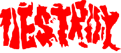 Destroy Punk Rock logo
